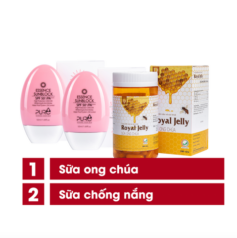 SALE: 2 Sunblock + 1 Royal Jelly