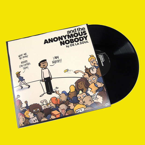 "De La Soul ""And The Anonymous Nobody"" Vinyl"