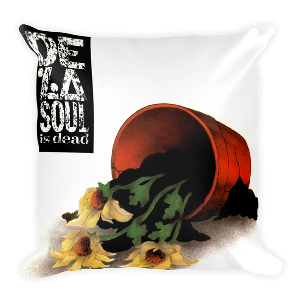"""De La Soul is Dead"" Lush Pillow"