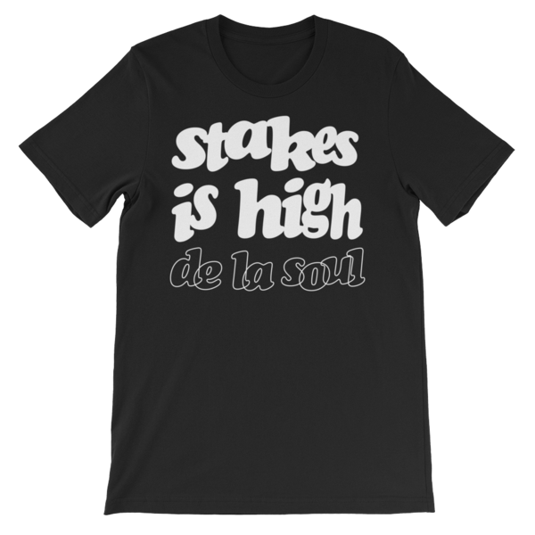 Stakes Is High T-Shirt - Black