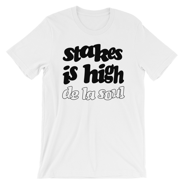 Stakes Is High T-Shirt - White