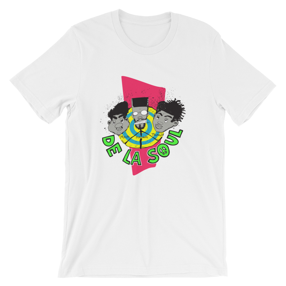 """De La Soul"" 3 The Head Way T - Shirt"