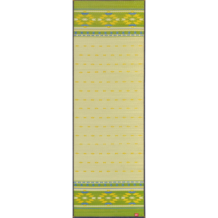 Natural Relaxing Tatami Yoga Mat - Earth (GN)