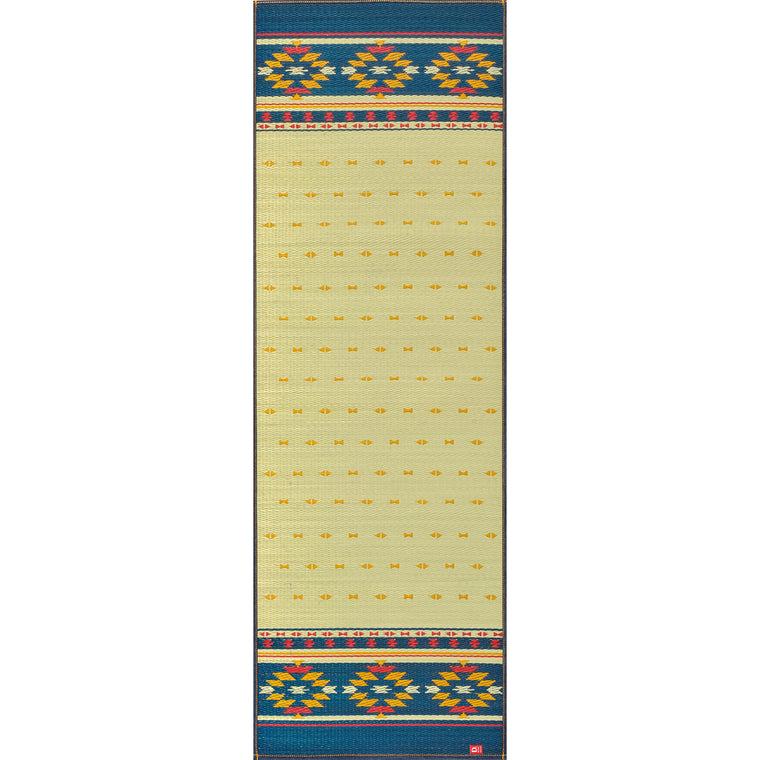 Natural Relaxing Tatami Yoga Mat - Earth (NV)