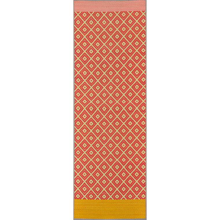 Natural Relaxing Tatami Yoga Mat - Lattice
