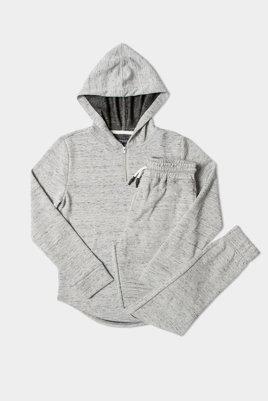 Heather Grey Hoodie + Jogger Pack