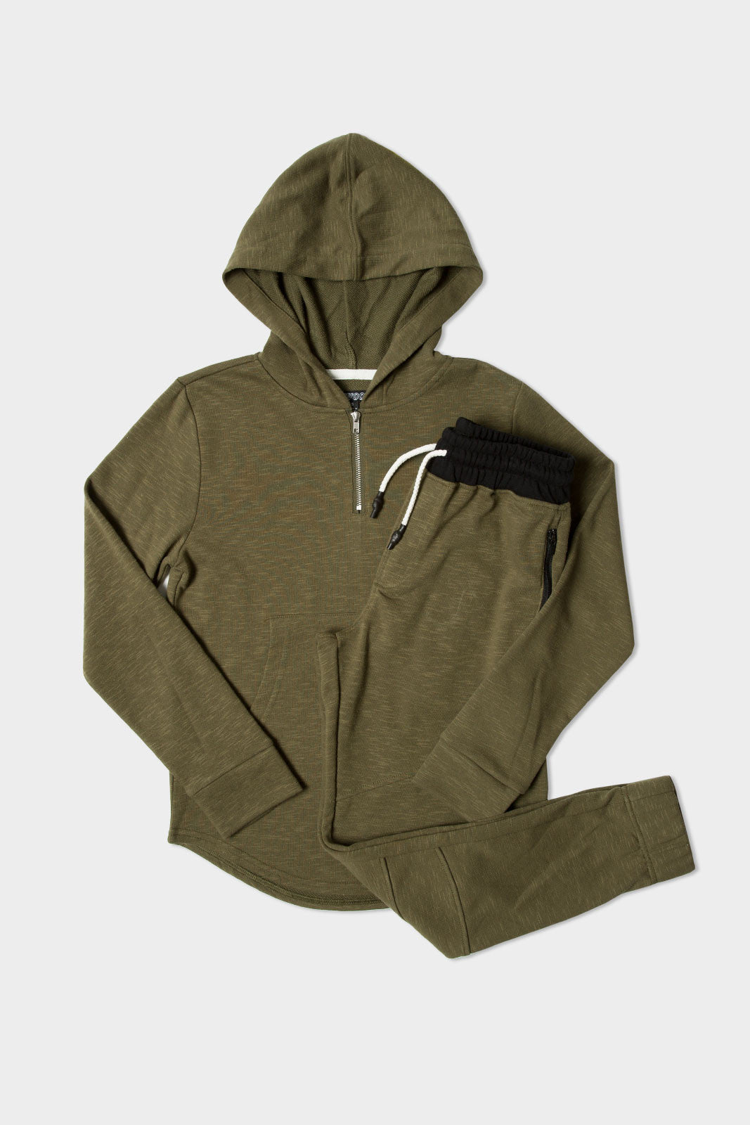 Olive Hoodie + Jogger Pack