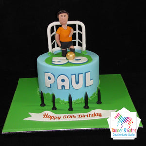 Goal Keeper Birthday Cake