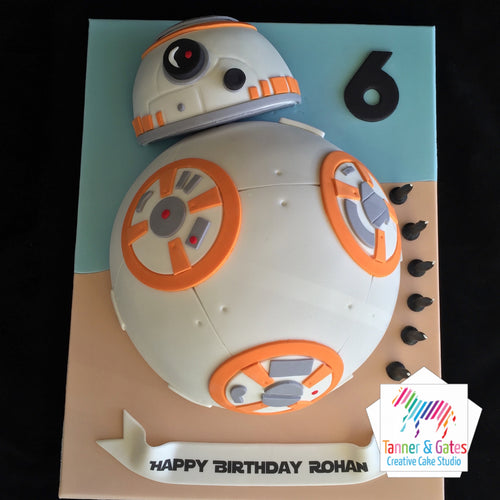 Star Wars Cake - BB8 2D