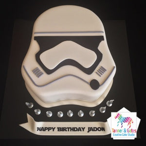 Outstanding Star Wars Stormtrooper New 2D Cake Tanner Gates Personalised Birthday Cards Paralily Jamesorg