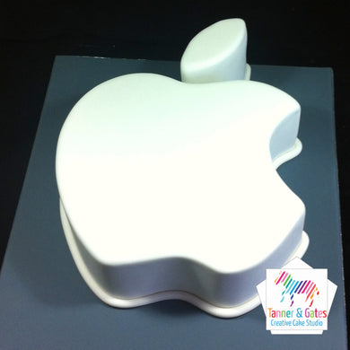 Apple Logo Cake