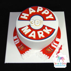 Sports Colours Birthday Cake
