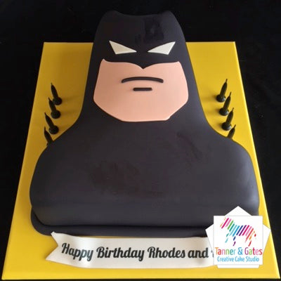 Batman Torso Birthday Cake