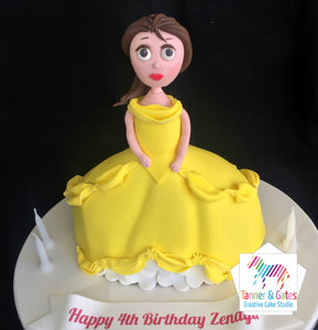 Belle Cake (Beauty and The Beast)