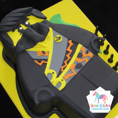 Lego Ninjago Cake - Black Ninjago Electric
