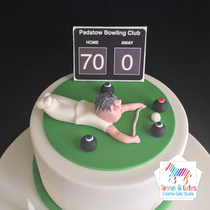 Bowls Lover Birthday Cake