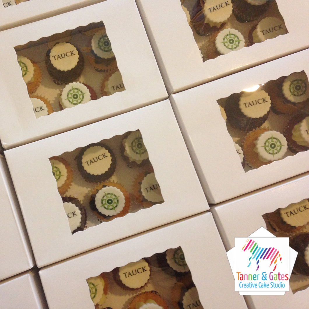 Boxed Mini Cupcakes - Gift Box
