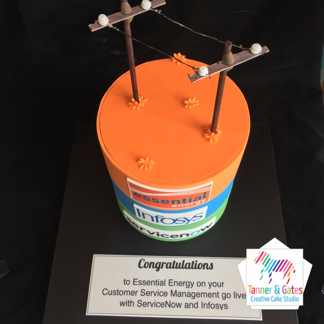 Power Corporate Cake - Sydney