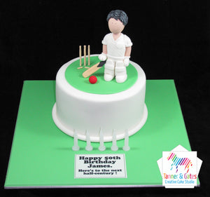 Cricket Lover Birthday Cake