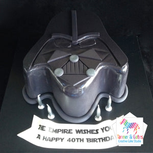 Star Wars Cake - Darth Vader 2D