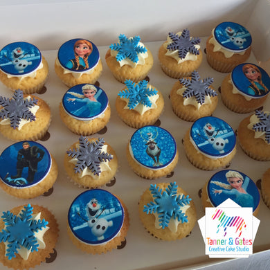 Disney Frozen Cupcakes - Mini