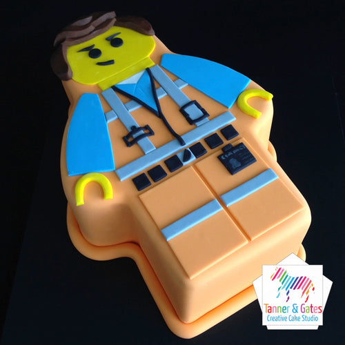 Lego Movie Emmet Cake