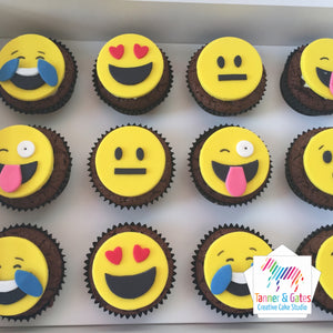 Emoji Cupcakes (mixed)