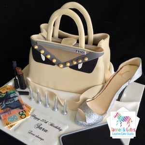 Fendi Bag & Accessories Cake