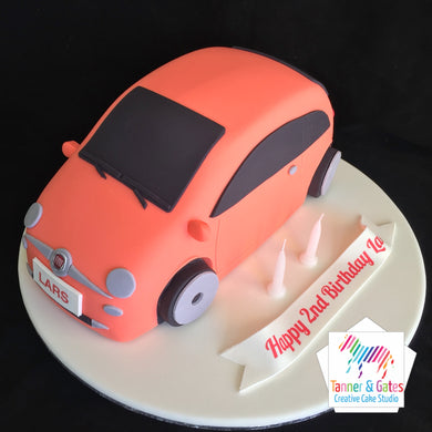 3D Hatchback Car Cake
