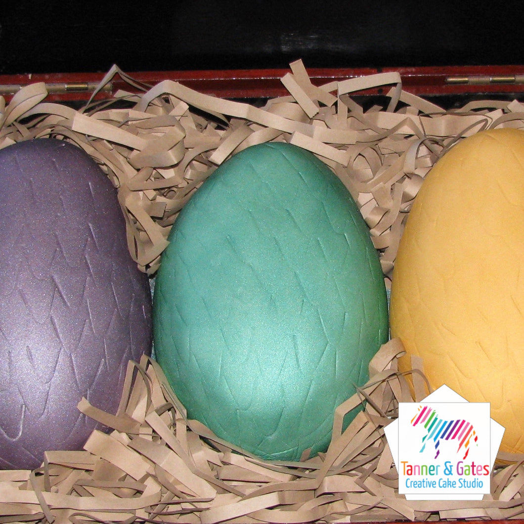 Game of Thrones Dragon Eggs Cake