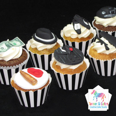 Gangster Cupcakes