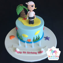 Pirate Birthday Cake (Girl)