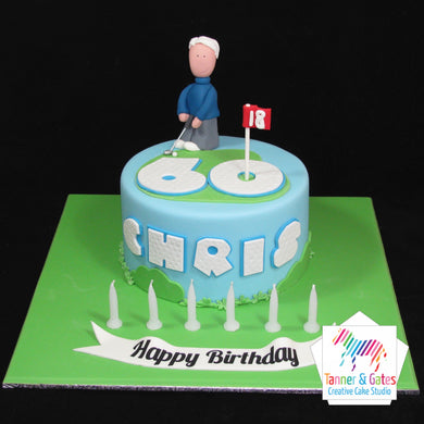Golf Lover Birthday Cake