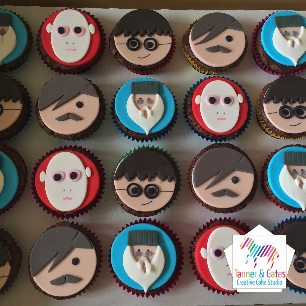 Harry Potter Cupcakes (mixed)