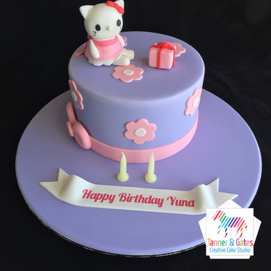 Hello Kitty Character Cake