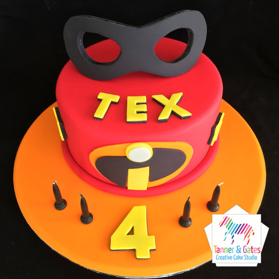 Disney Incredibles Cake