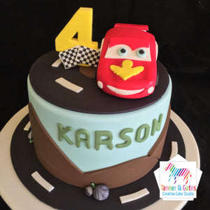 Disney Cars Cake - Lightening McQueen