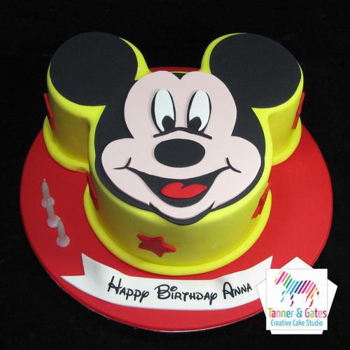 Mickey Mouse 2D Cake
