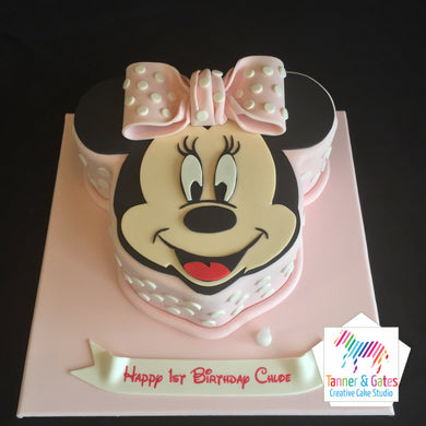 Minnie Mouse 2D Cake