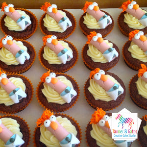 Muppet Meeper Cupcakes