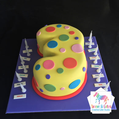 Spotted Age Cake