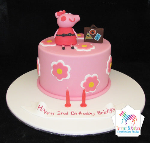 Peppa Pig Cake - Peppa's Travels