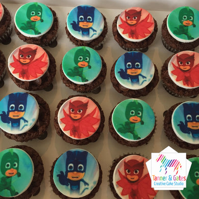 PJ Masks Cupcakes - Mini