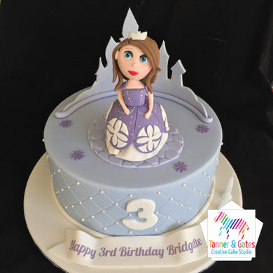 Princess Sophia 1st Birthday Cake