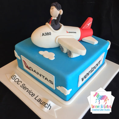A380 Birthday Cake - Corporate