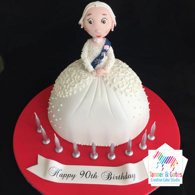 HM The Queen Mother Cake