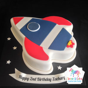 Phenomenal Rocket Birthday Cake Sydney Tanner Gates Funny Birthday Cards Online Alyptdamsfinfo