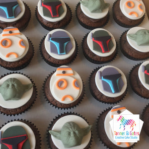 Star Wars Cupcakes -BB8 & Friends