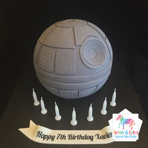 Star Wars - 3D Death Star Cake