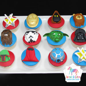 Star Wars Cupcakes - Deluxe